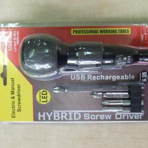 USB充電式電動ドライバー